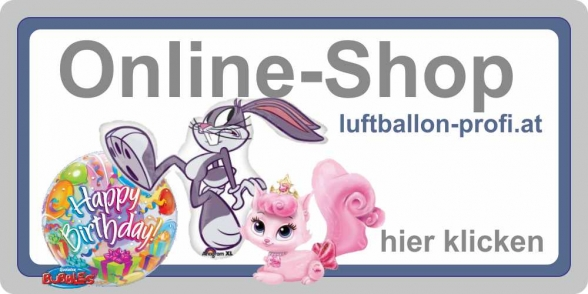 Zum Onlineshop www.luftballon-profi.at